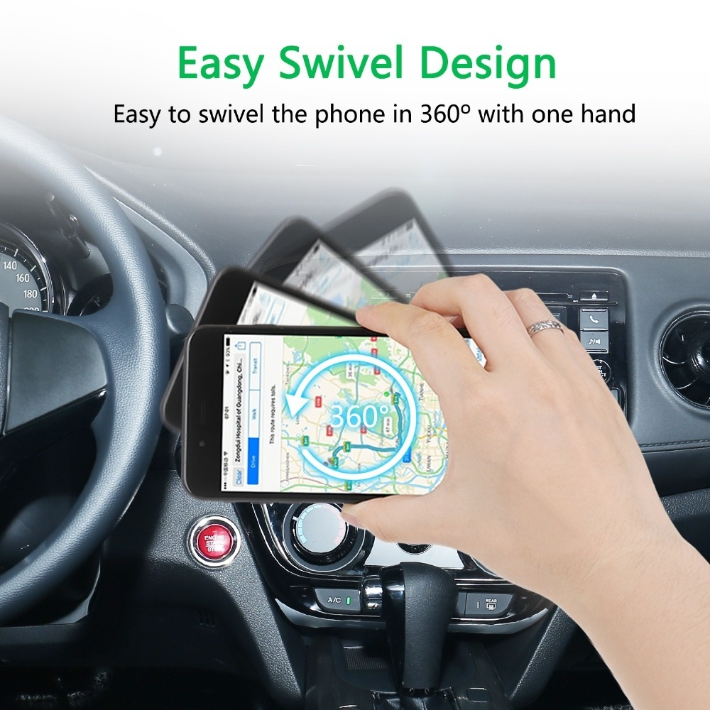Universal Magnetic Phone Holder For Phone in Car Magnet Air Vent mount Stand Holder Car Mobile Smartphone Holder GPS 360 Degree in Phone Holders Stands from Cellphones Telecommunications