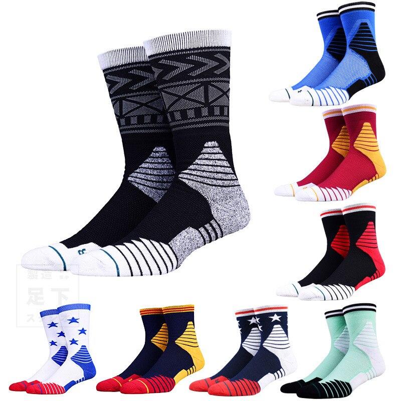 Баскетбол Носки толстым дном высокие трубы спортивные носки для верховой езды Носки Альпинизм Бег Носки AP11001