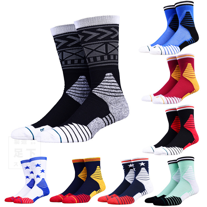 Calzini di pallacanestro di spessore inferiore ad alta tubo di calze sportive di equitazione alpinismo calze calzini da corsa AP11001