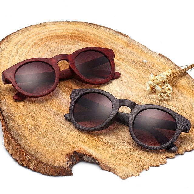 4b70bbd44f8 Vintage Texture Wood Sunglasses brand sunglasses women glasses UV400  fashion designer girls glasses Oculos De Sol