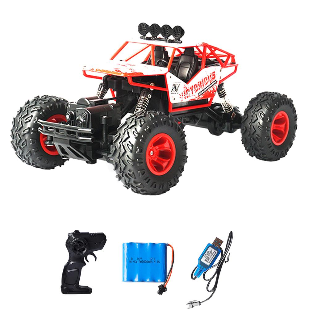 2.4G Large Remote Control Car Drift Off-Road Vehicle Four-Wheel Drive Climbing Big Car High Speed Racing Boy Charging Toy Car super climbing remote control car model off road vehicle toy four wheel drive