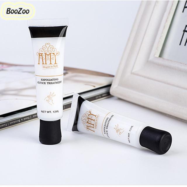 Bluezoo 1 Bottole Cuticle Oil Nail Art Softener Exfoliant Cream Dead Skin For Cuticle Remover Exfoliator Oil Nail Care Nail Tool