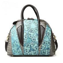 Women Messenger Bags Bucket Genuine Leather Women Bag New European Fashion Large Crossbody Handbags