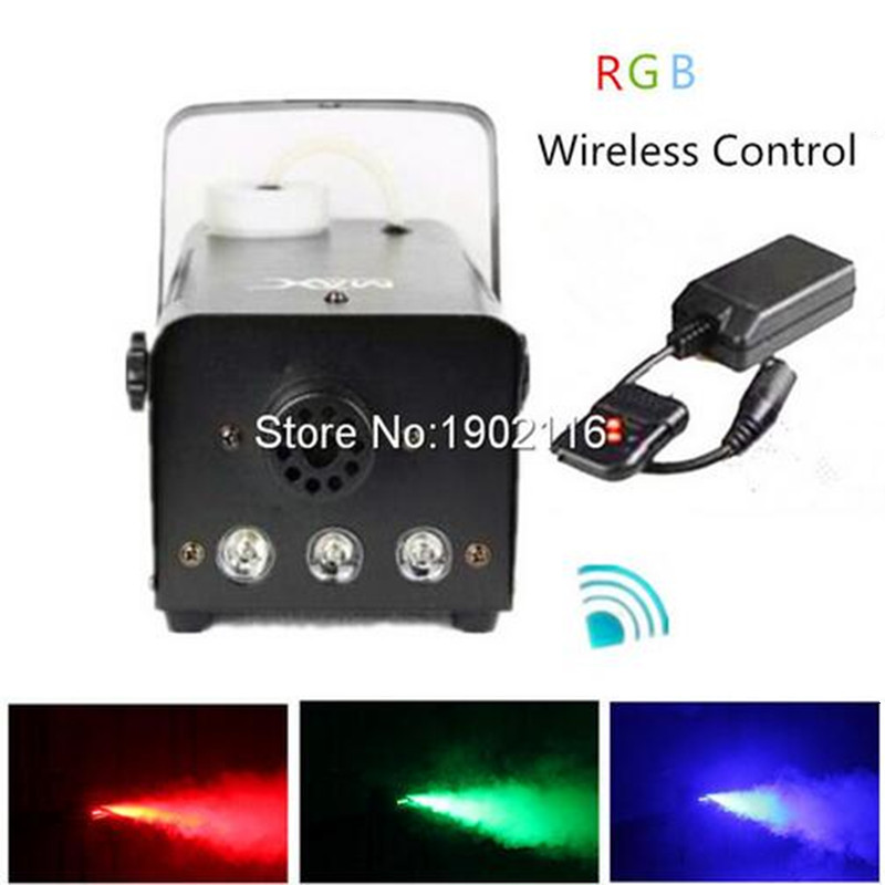 Niugul Wireless remote control LED 500W smoke machine stage effects light beam smoke generator RGB fog machine LED Fogger maker