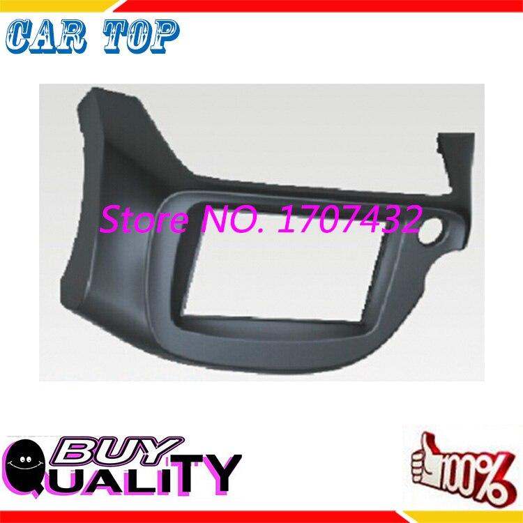 Car Radio Fascia Honda Jazz Fit 2008-2013Right Wheel stereo facia frame panel dash mount kit adapter trim Bezel