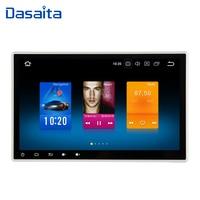 Dasaita 10.2 Android 8.0 Car GPS Radio Player for 2 din Universal with Octa Core 4GB+32GB Auto Stereo Multimedia Headunit