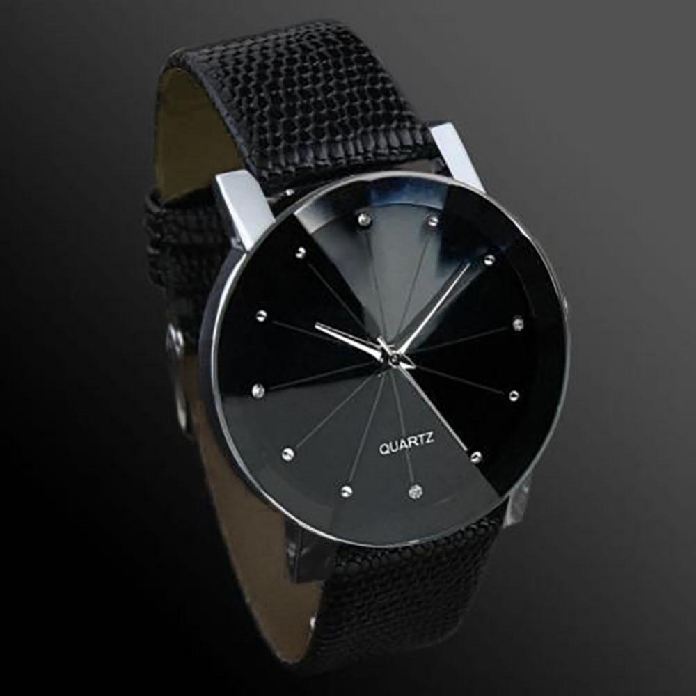 Hot! Stainless Steel Dial Clock Male Casual Quartz Watch Men Sport Wrist Men Watches Leather Brand Luxury Day Date top brand luxury new silver watch women dress watches fashion men date leather stainless steel sport quartz wrist watch clock a1