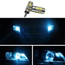 2pcs T10 W5W Clearance Lights 12V LED For VW Golf 5 6 Polo Jetta Bora Passat 3C CC B7 Tiguan Touareg Scirocco Eos Series