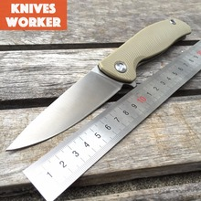 LDT Russia Bear 95 Folding Blade Knives G10 Handle 440 Blade F95 Hunting Knife Military Tactical Survival Camping Outdoor Tools
