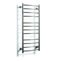 YEK 8049 110 220V Electric Towel Holder Bathroom Accessories Heated Towel Rack,Wall Mounted Stainless Steel Towel Warmer Rack