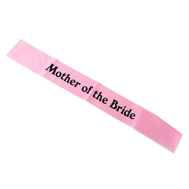 1*Baby Shower Satin Ribbon Mummy To Be Sashes Shoulder Strap Mom Party Gift  Favors