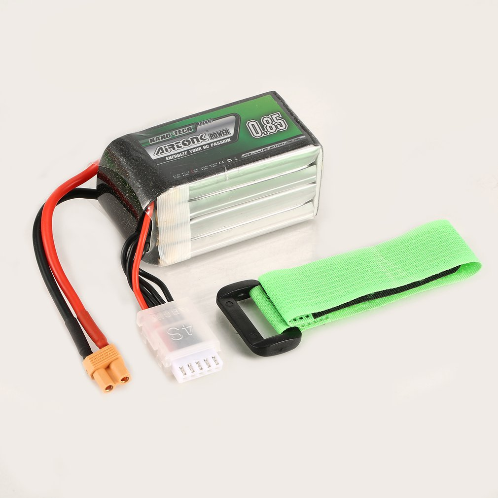 11.1V <font><b>850mAh</b></font> 45C <font><b>3S</b></font> 1P <font><b>Lipo</b></font> Battery JST Plug Rechargeable for RC Racing Drone Quadcopter Helicopter Car Boat Model Parts image