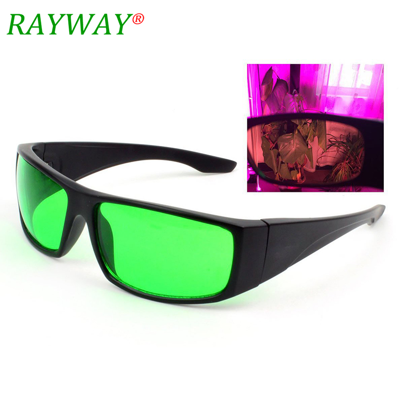 LED Grow Light Room Goggles Color Correction Safety Glasses Anti UV IR Intense Light Reflection For Indoor Garden Hydroponics