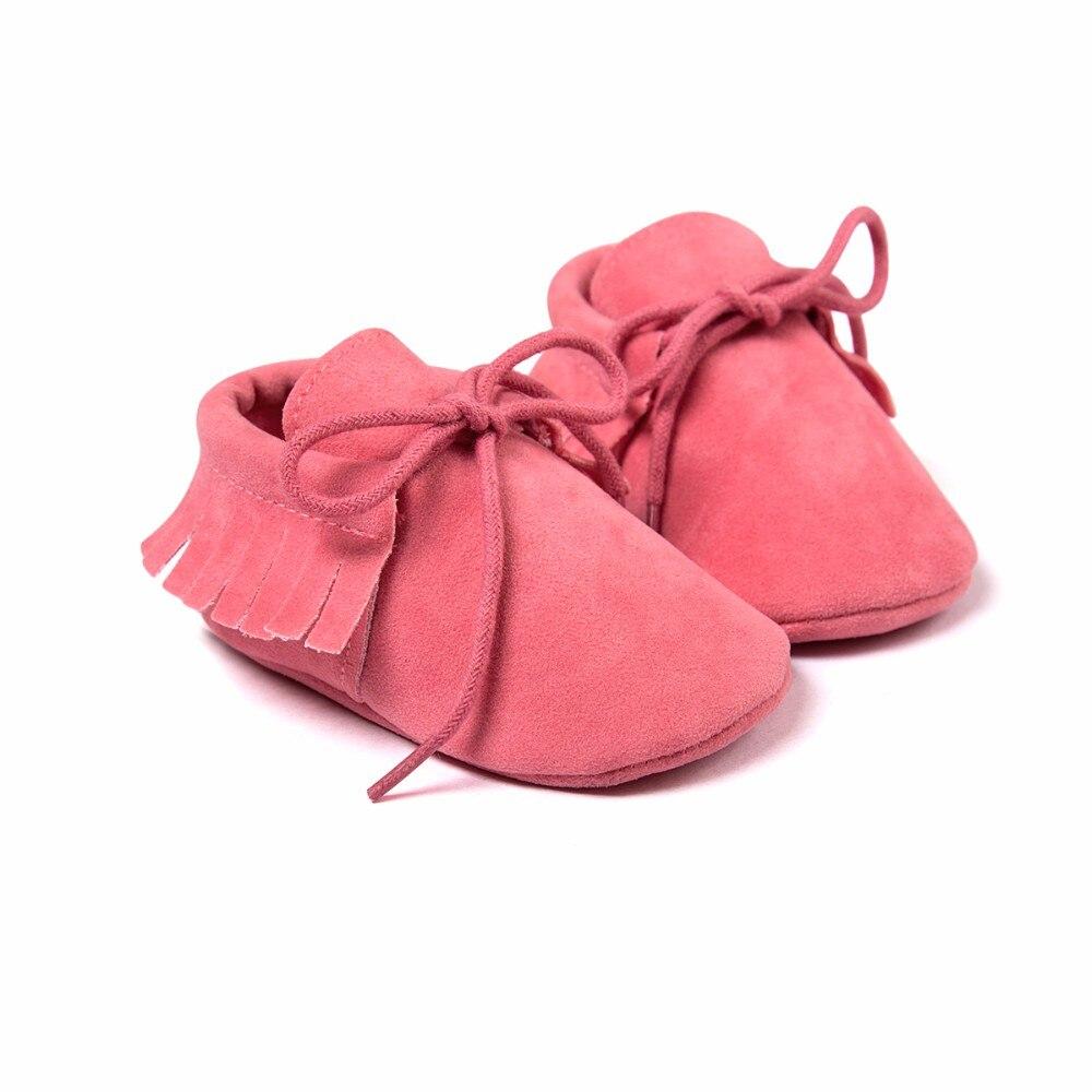 Quasten PU Leder Babyschuhe Baby Mokassins Neugeborenen Schuhe Weiche - Babyschuhe - Foto 2