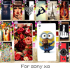 DIY Hard Plastic Silicon Soft TPU Mobile Phone Case For SONY Xperia XA F3111 F3112 F3113 F3115 5'' Case Protective Cover Housing
