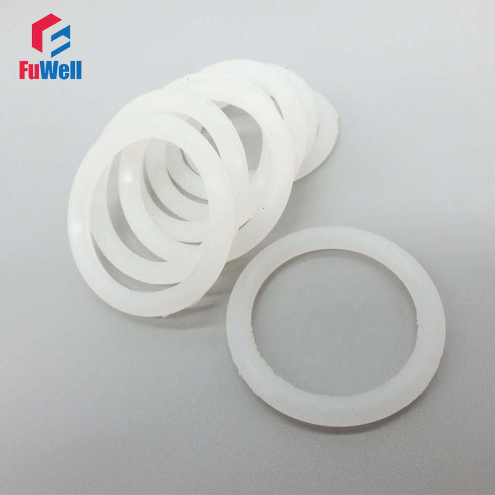 White O Ring Seals Gasket 5mm CS Food Grade Silicon Sealing Ring OD 130/135/140/145/150/155/160/165/170/175/180mm O-rings original new arrival 2018 nike dry hoodie fz hprdr lt men s jacket hooded sportswear