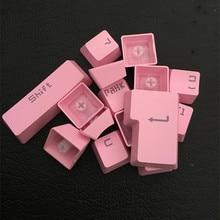 104 مفاتيح OEM الشخصي الكرز MX مفاتيح لوحة المفاتيح الميكانيكية أغطية ABS اللون الوردي قبعات الخلفية