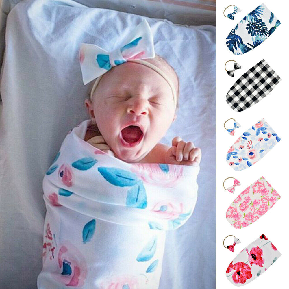 2018 Baby Lace Blanket Stretch Ruffle Swaddle Wrap Photography Photo Prop LIN