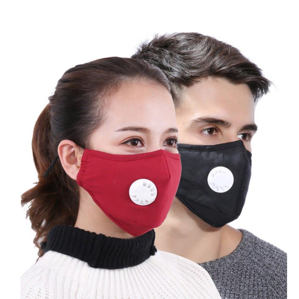 Mask Anti Dust  PM2.5  Respirator Washable Reusable Masks Cotton Unisex  Warm And Dust-proof Breath Proof Haze Mask