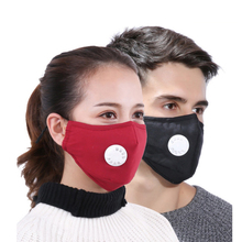 Маска против пыли PM2.5 респиратор Моющиеся Многоразовые маски хлопок унисекс теплая и Пыленепроницаемая дыхательная маска A73