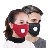 Mask anti Dust PM2.5 Respirator Washable Reusable Masks Cotton Unisex Warm and dust-proof breath proof haze mask