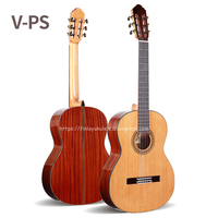 Professional 36 inch Acoustic Classical guitar With Solid Cedar Top/Magogany Body ,3/4 Classical guitar 580MM,traveling guitar