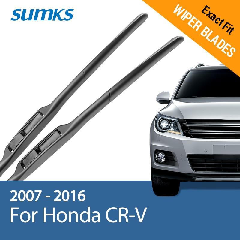 SUMKS Viskerblader for Honda CR-V 26