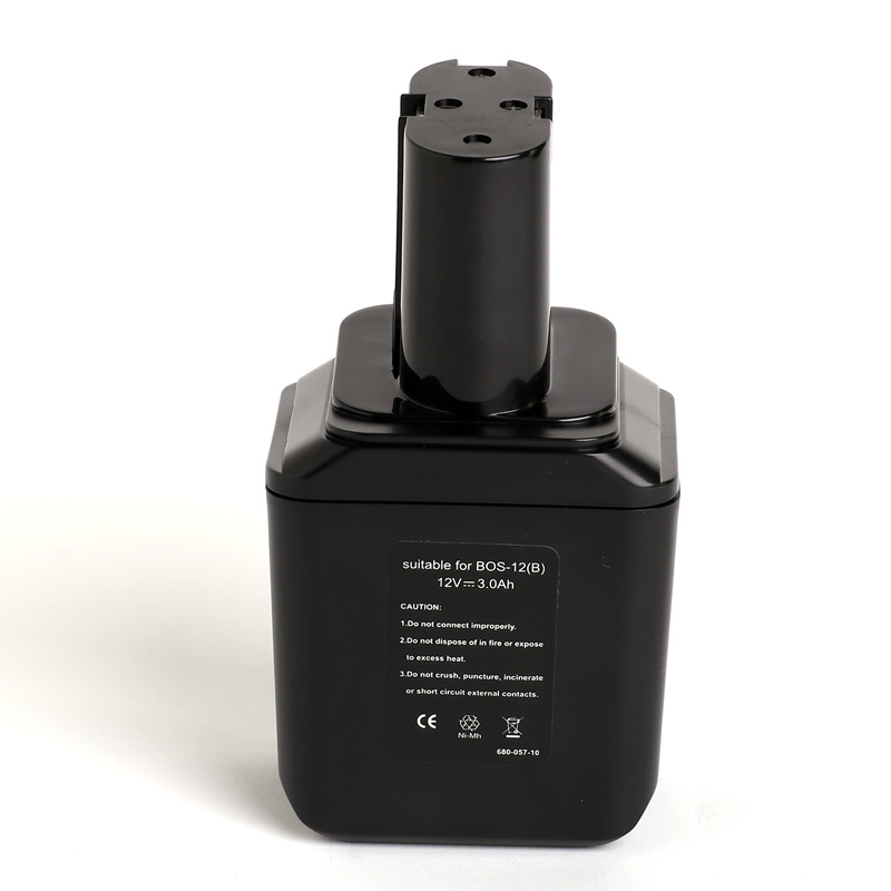 for BOSCH 12V 3.0Ah power tool battery Ni cd,2607335021,2607335014,2607335180,2607335158,b-8220,bpt1004,bh1204,bh-1204,GSR12VE