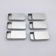 Size: 60x34x11mm mini sliding tin box small lip balm box cos