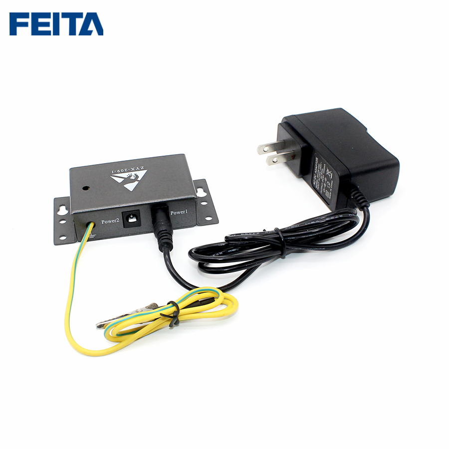US $18 0 |FEITA 209 I Auto alarm Anti static ESD wrist strap tester One  output Anti static online monitors free ship-in Hand Tool Sets from Tools  on