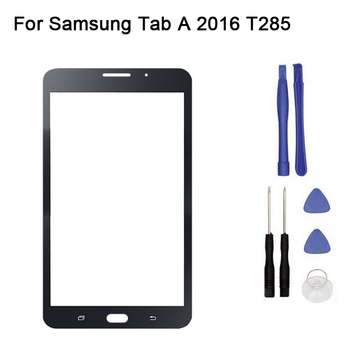 10pcs/lot New Replacement LCD Front Touch Screen Panel Outer Glass Lens For Samsung Tab A6 7.0 A 2016 Sm-T285 T285C