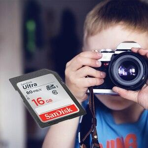 Image 4 - SD 16gb Scheda di Memoria SDHC Ultra Tarjeta Carte SanDisk sd Card 16 GB per Canon Sony Samsung Nikon Olympus digitale Smart Fotocamera REFLEX