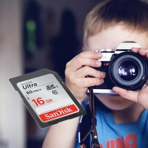 Image 4 - SanDisk Carte SD 16gb Geheugenkaart SDHC Ultra Tarjeta sd Kaart 16 GB voor Canon Sony Samsung Nikon Olympus digitale Smart SLR Camera