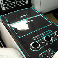 Clear Interior Transparent Film Console Panel Protection Sticker for Land Rover Range Rover Sport Vogue Discovery Sport Velar
