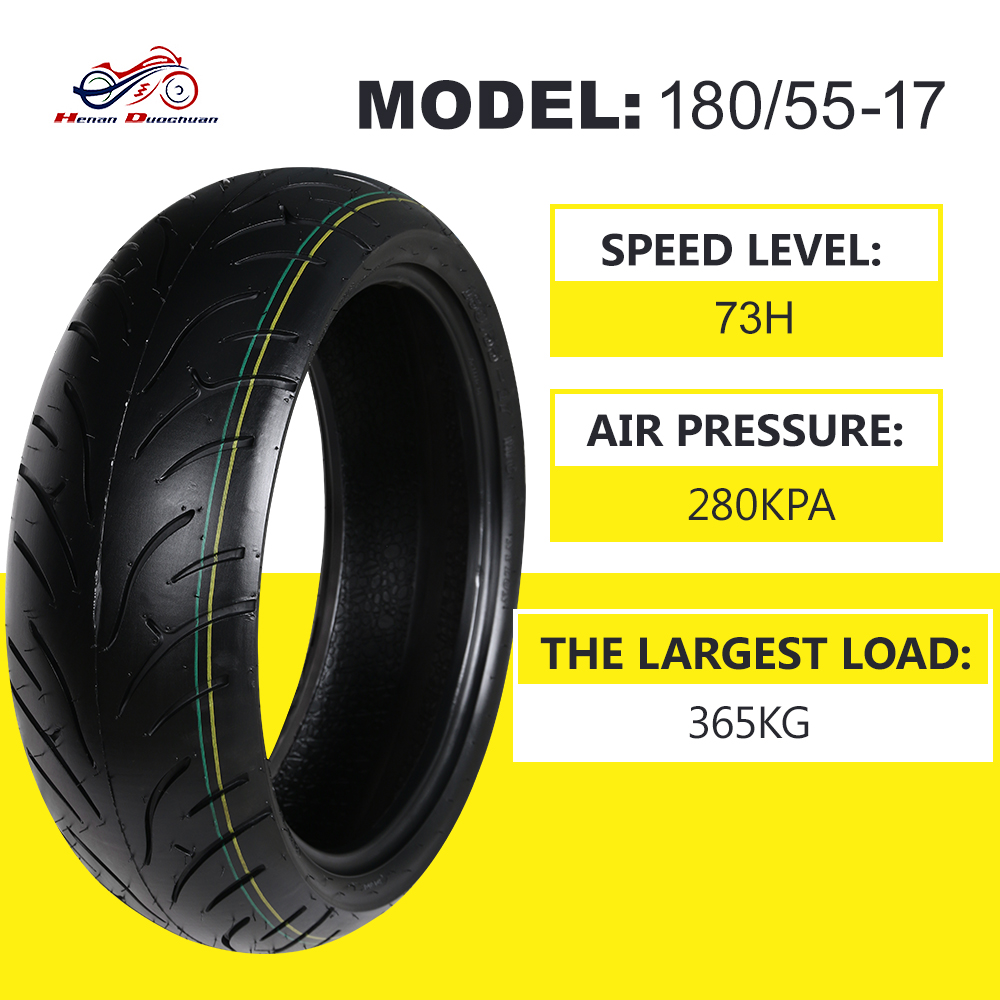 Hot Solid Tube Without Inner Tube Wheel Motorcycle Tires Rims 120 70 180 55 17 for