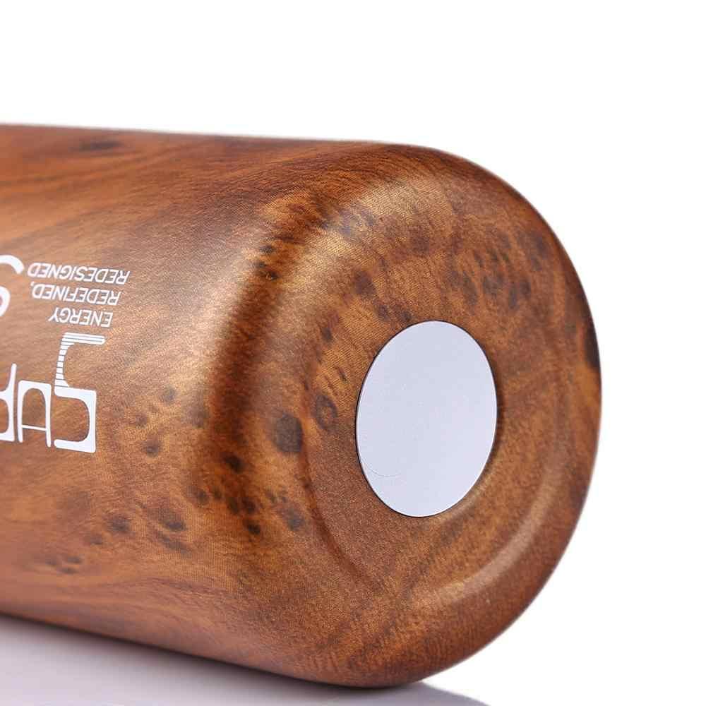 550 мл Термос для Чай Кофе изоляции Нержавеющаясталь двойными стенками пить воду чашки пуля в форме термос