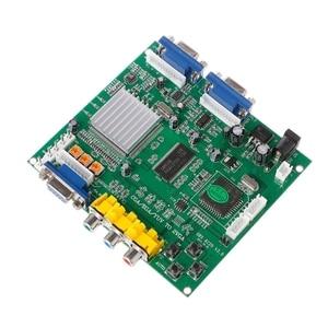 Image 4 - New Arcade Game RGB/CGA/EGA/YUV To Dual VGA HD Video Converter Adapter Board GBS 8220