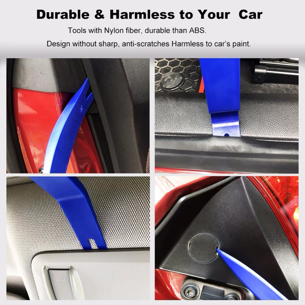 Image 3 - DIY Auto Car Pry Repair Tool Kit Radio Panel Interior Door Clip Panel Pry Tool Trim Dashboard Removal Opening Tool Set-in Auto Fastener & Clip from Automobiles & Motorcycles