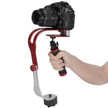 Новые Pro ручной видео стабилизатор устойчивый cam для DSLR DV цифровые зеркальные Камера оптовая продажа