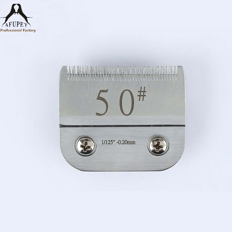 50 stainless steel blades for pet clippers