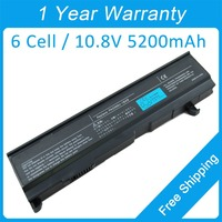 5200mah laptop battery for toshiba Satellite A80 A100 M50 M55 M105 S3000 PABASO77 PA3478U 1BRS PA3399U 1BAS