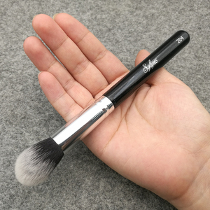 Image 5 - Sylyne brocha para resaltador cónico n. ° 204, brochas de Maquillaje facial de alta calidad