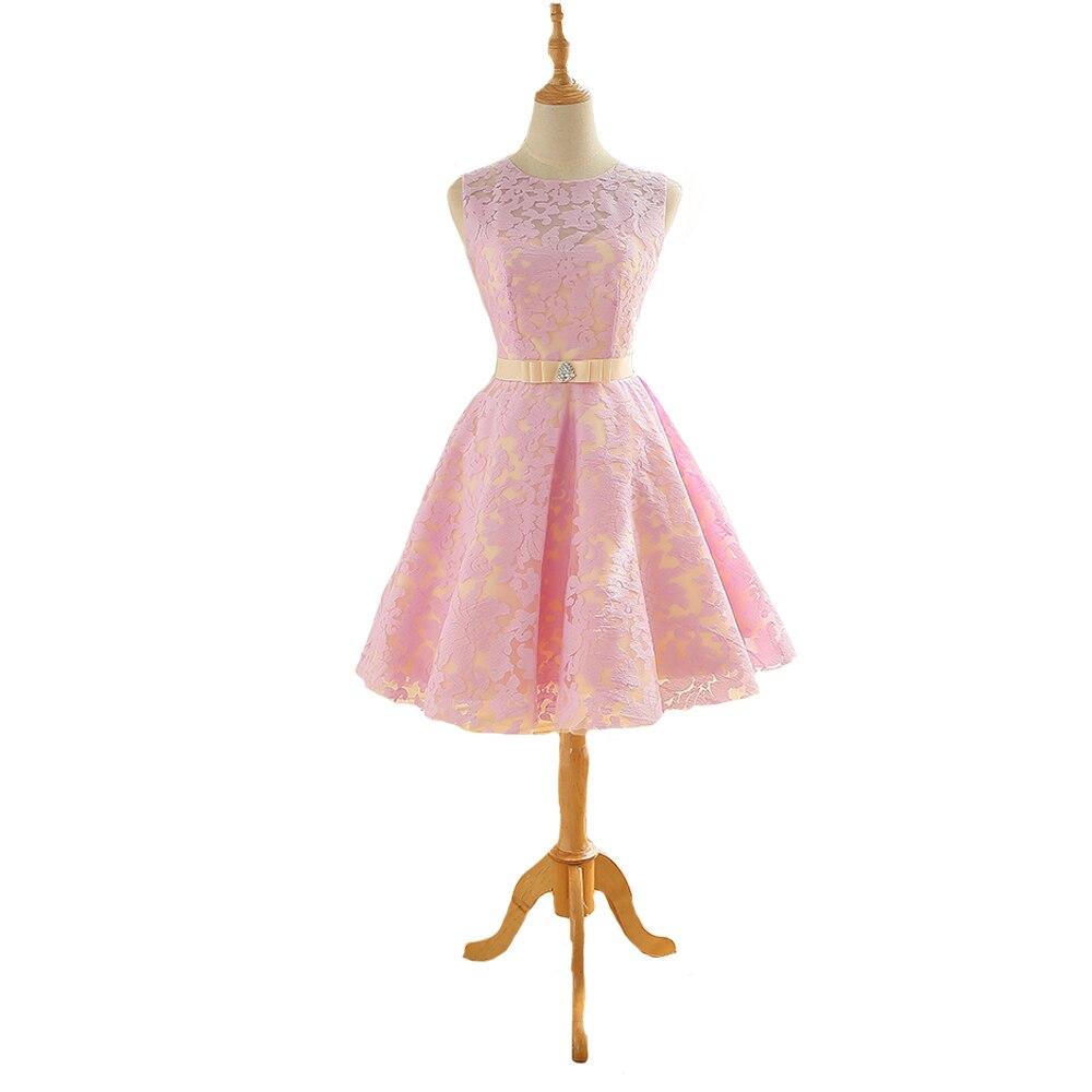 Tienda Online Vestido de festa corto vestido de fiesta una línea ...