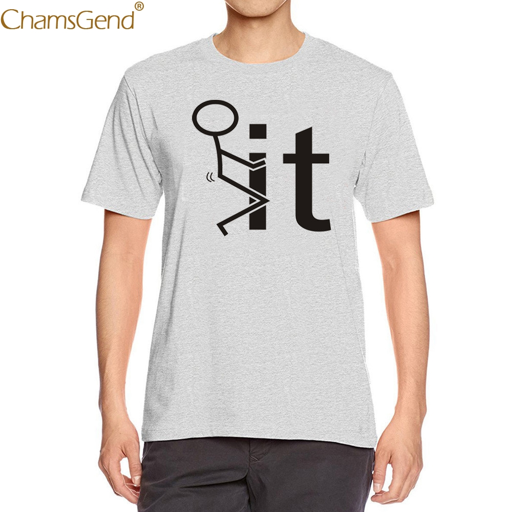 2019 Simple men t-shirt cotton  Navy Gray creative design Printing Tees Shirt Short Sleeve Blouse comfortable o-neck Casual Feb7