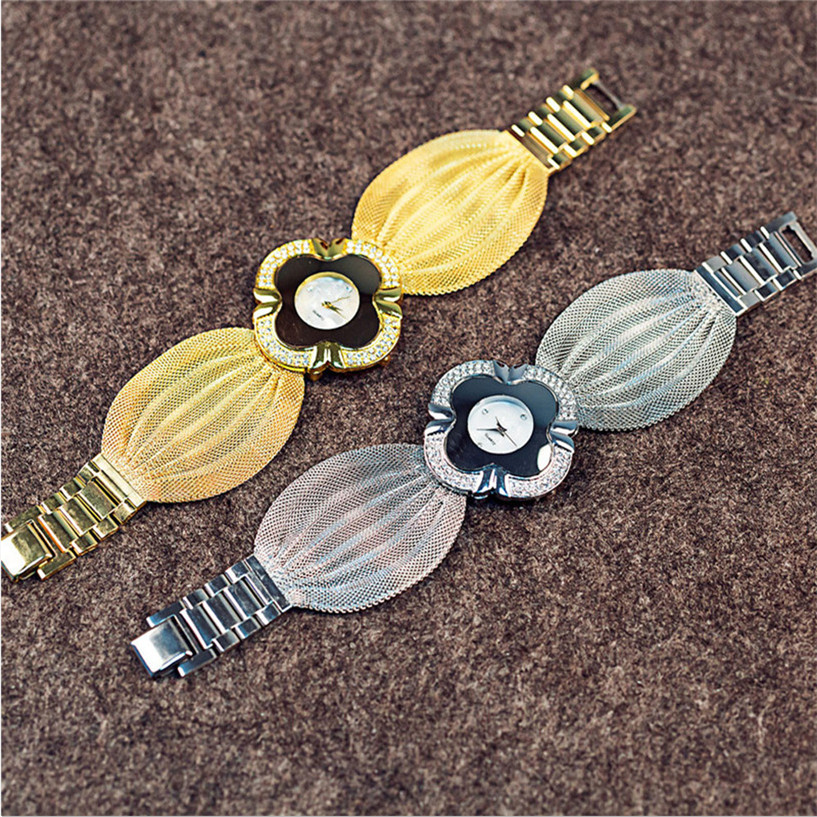 #1 Best Deal Fabulous Lady Diamond Bracelet Quartz Watch 15