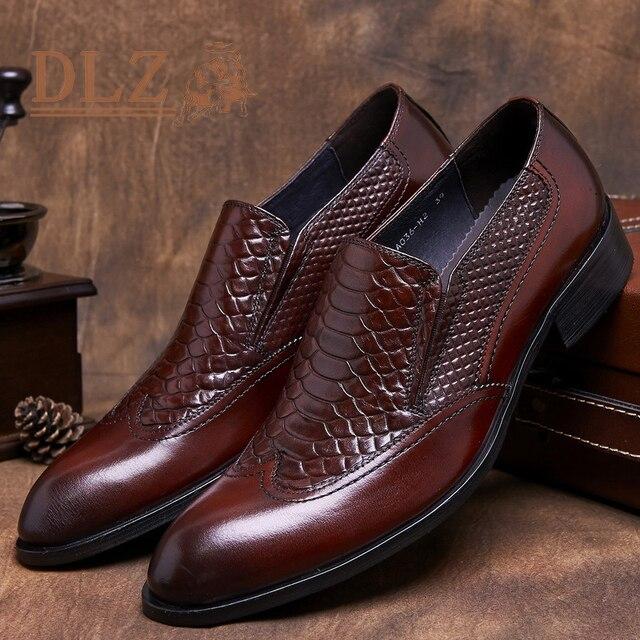 Sapatos 2015 Zapatos Mejores Masculinos Italianas Oxford Las Marcas nAAOqI1