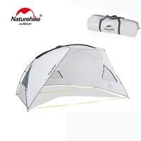 Naturehike GNIE пляж тент зонтики УФ защита брезент с поляки Открытый палатки кемпинга солнце приют Rainfly UPF40 NH18Z001 P