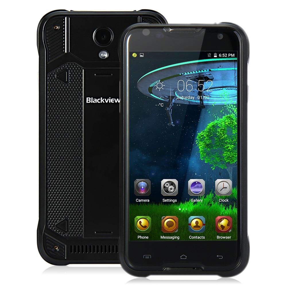 Original Blackview BV5000 4G Smartphone 5.0 inch Android 5.1 IPS Screen MTK6735 Quad Core 2GB RAM 16GB ROM IP67 Waterproof Phone