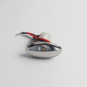 Image 2 - 316 de aço inoxidável led rv marinha barco luz para baixo cortesia luz 12 v dc