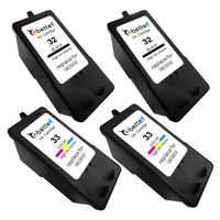 Replace For Lexmark Ink Cartridge 32 33 18C0032 18C0033 Use For P315 P915 P4350 P6210 P6250